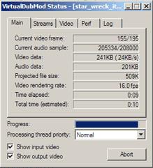 K750 MP4 Encoding